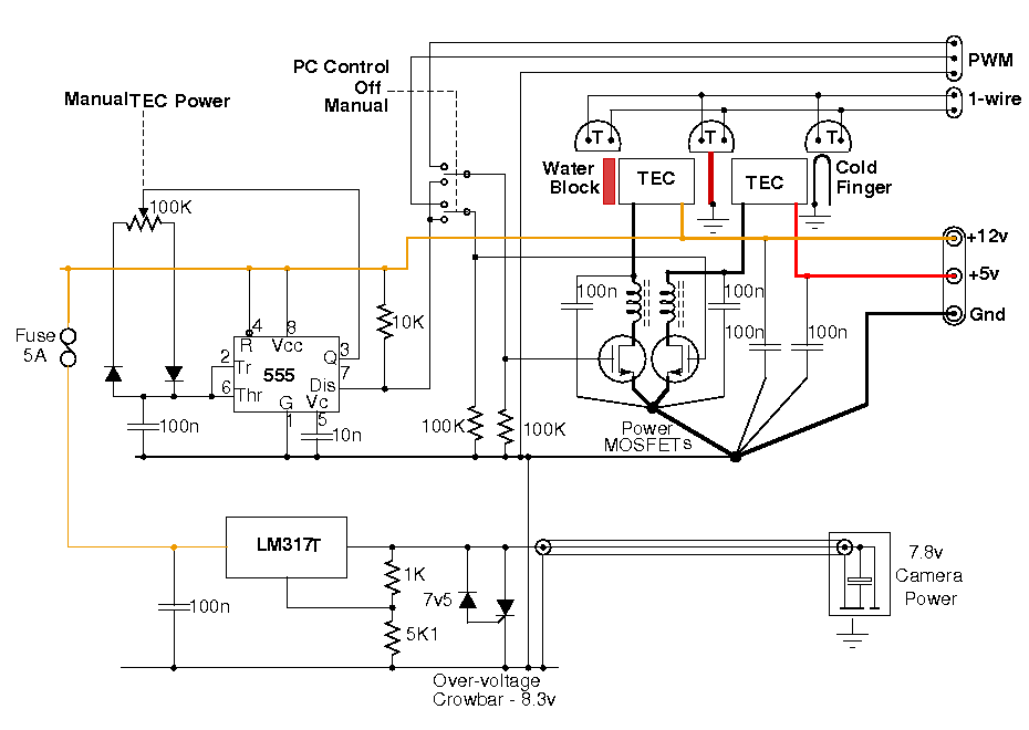 working 1100d cold finger sensor cooling with tecs and water cooling - page 2