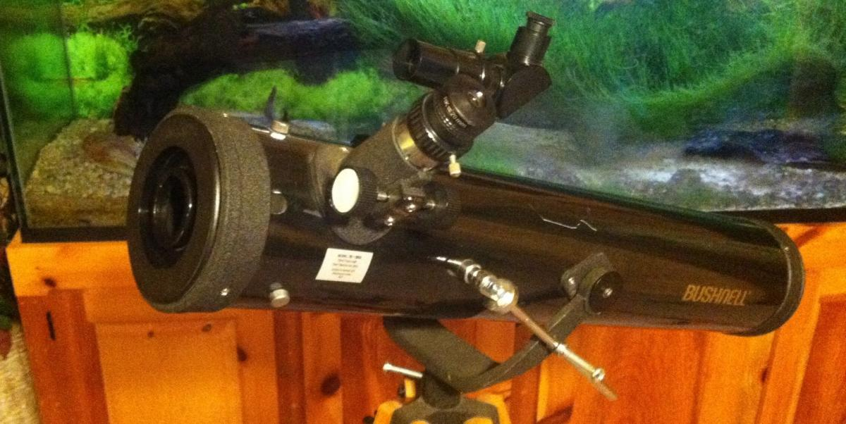 Bushnell telescope - Getting Started General Help and Advice