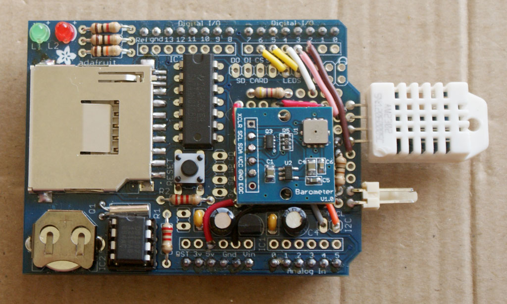 Arduino based weather station page diy astronomer