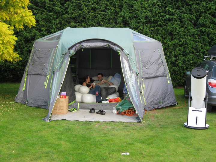 Glamping for wusses page 2 star parties astro for Glamping ideas diy