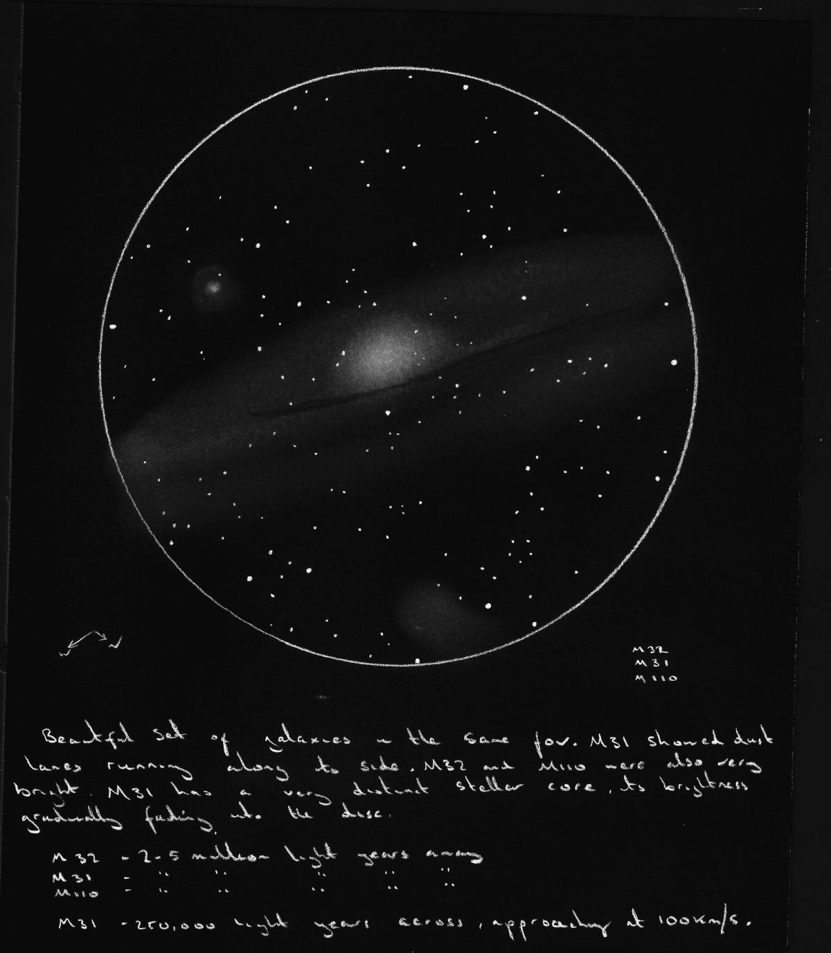 Andromeda Galaxy Through Binoculars 15 X 70 (page 2) - Pics About Space