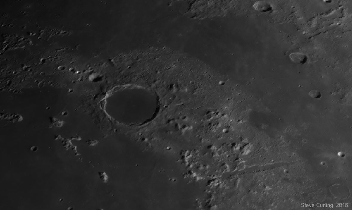 Plato and Vallis Alpes
