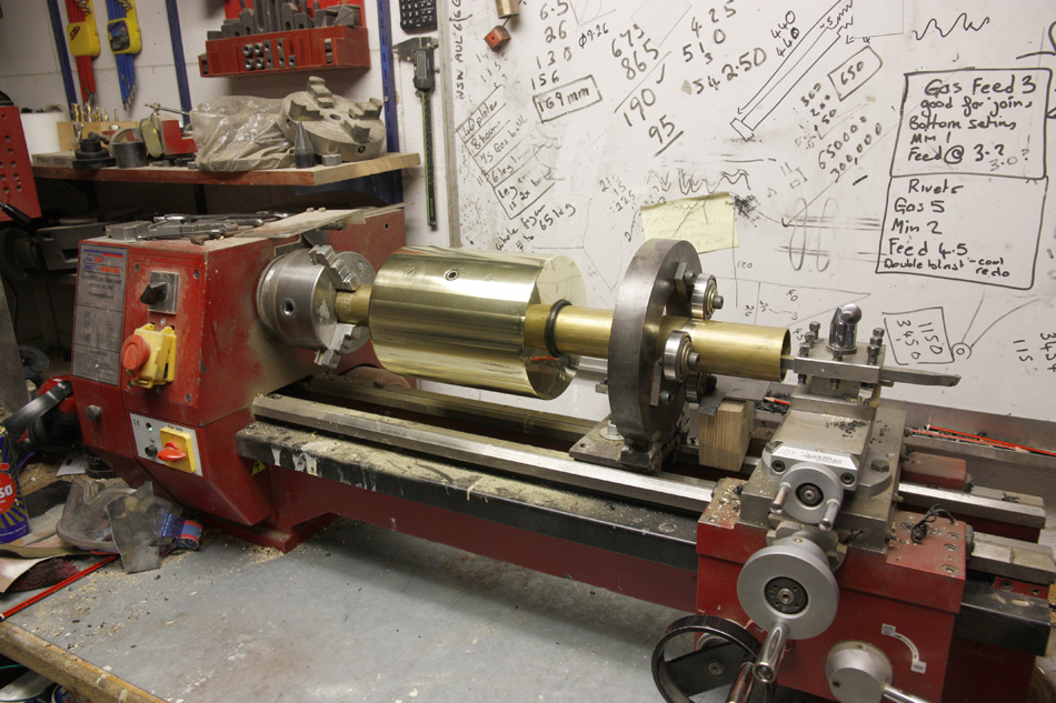 counterweight in the lathe.jpg