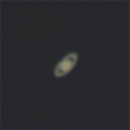 Saturn, Dobs and 2 stacked x2 barlows