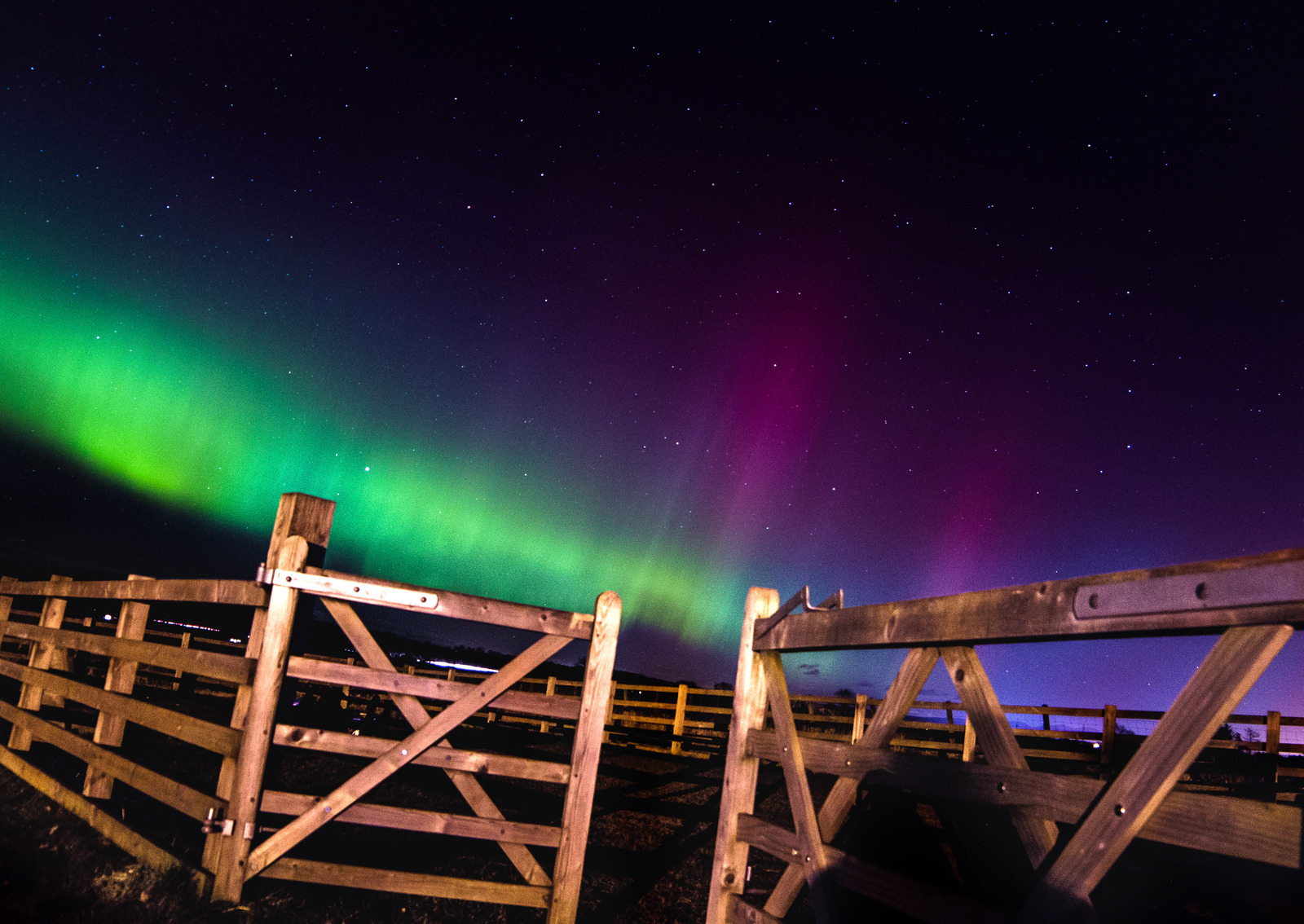 Aurora over Perthshire