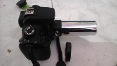 Camera fitted to standard draw tube