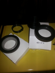 T rings and adapter.