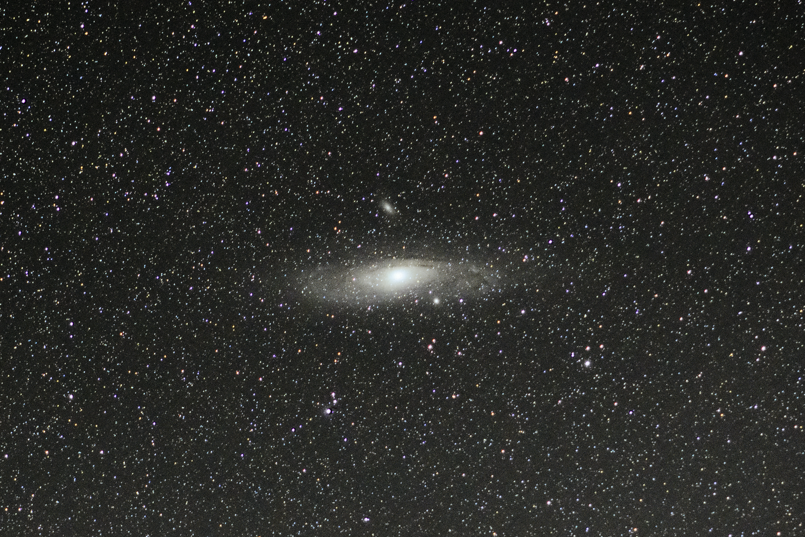 Andromeda M31 - Skywatcher Star Adventurer