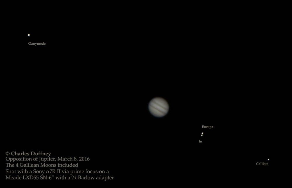 Opposition of Jupiter 2016.03.08