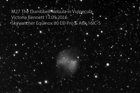 M27 The Dumbbell Nebula 17-09-2016.jpg