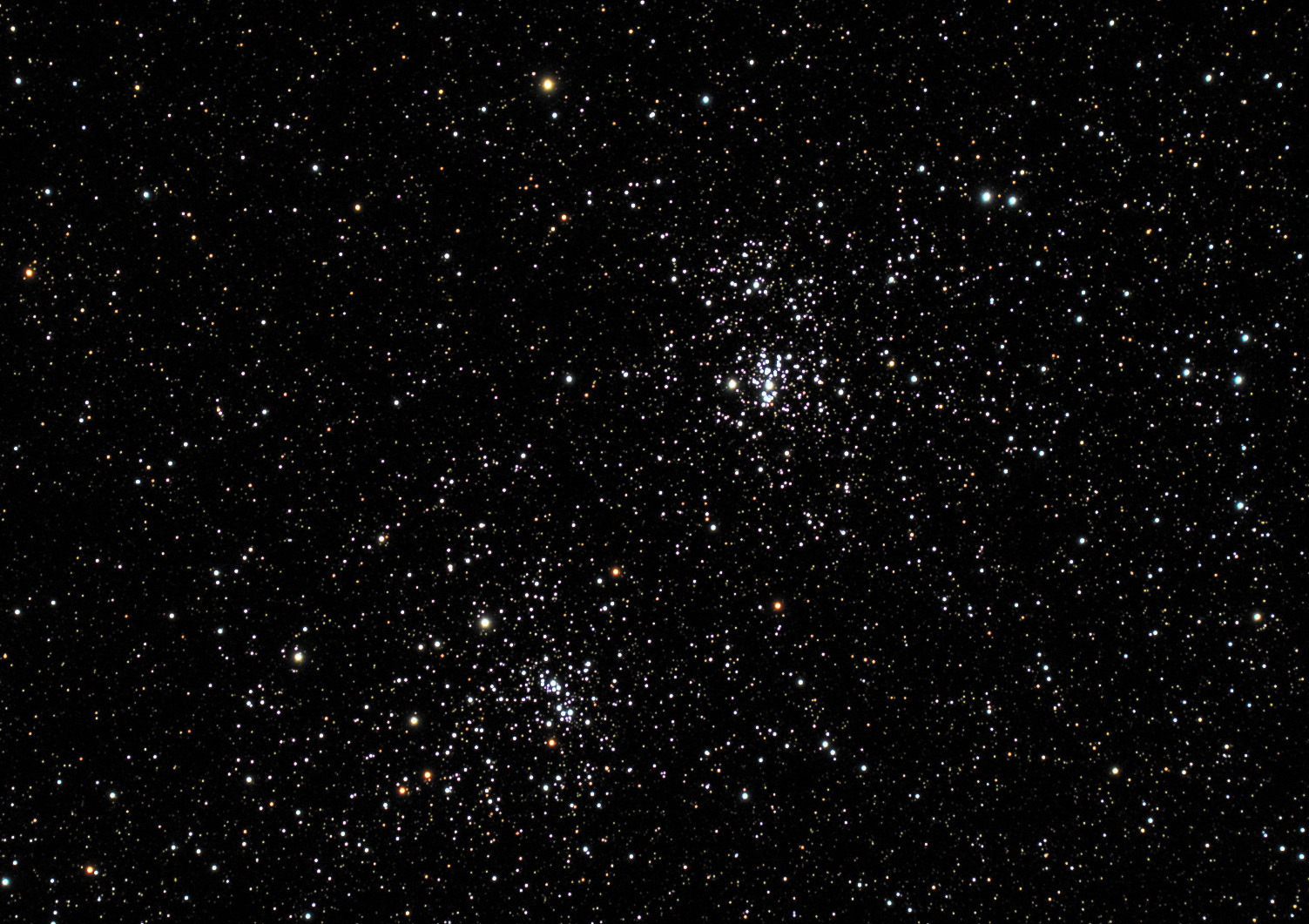 Perseus Double Cluster, NGC884