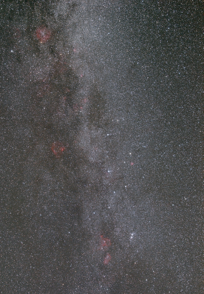 Cassiopeia and surrounds