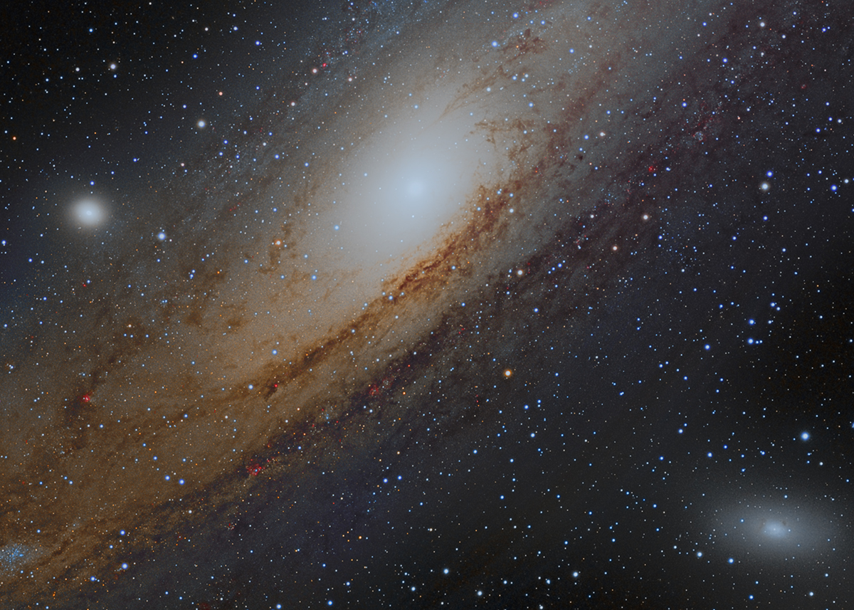 M31 core crop (mosaic)