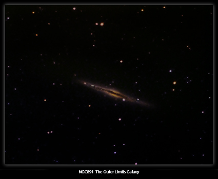 NGC891 The Outer Limits Galaxy