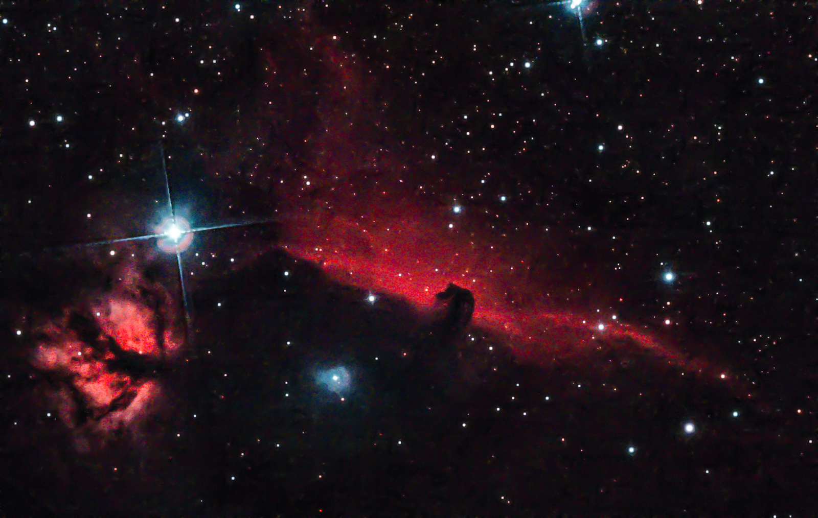 Horsehead & Flame with modified EOS 1200d & CLS filter