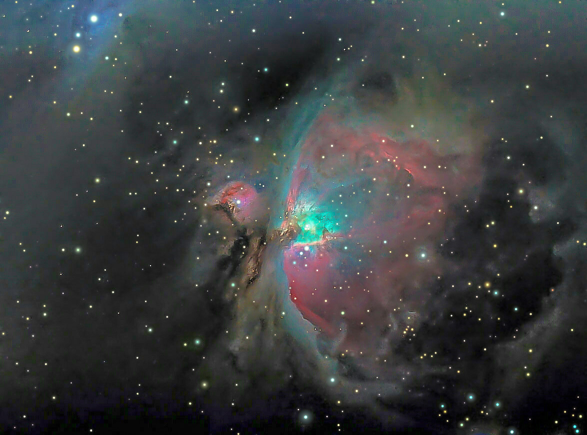 M42 without LP filter, 2nd process