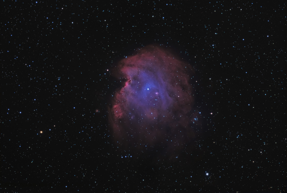 Monkey Head Nebula bicolour with RGB stars.jpg