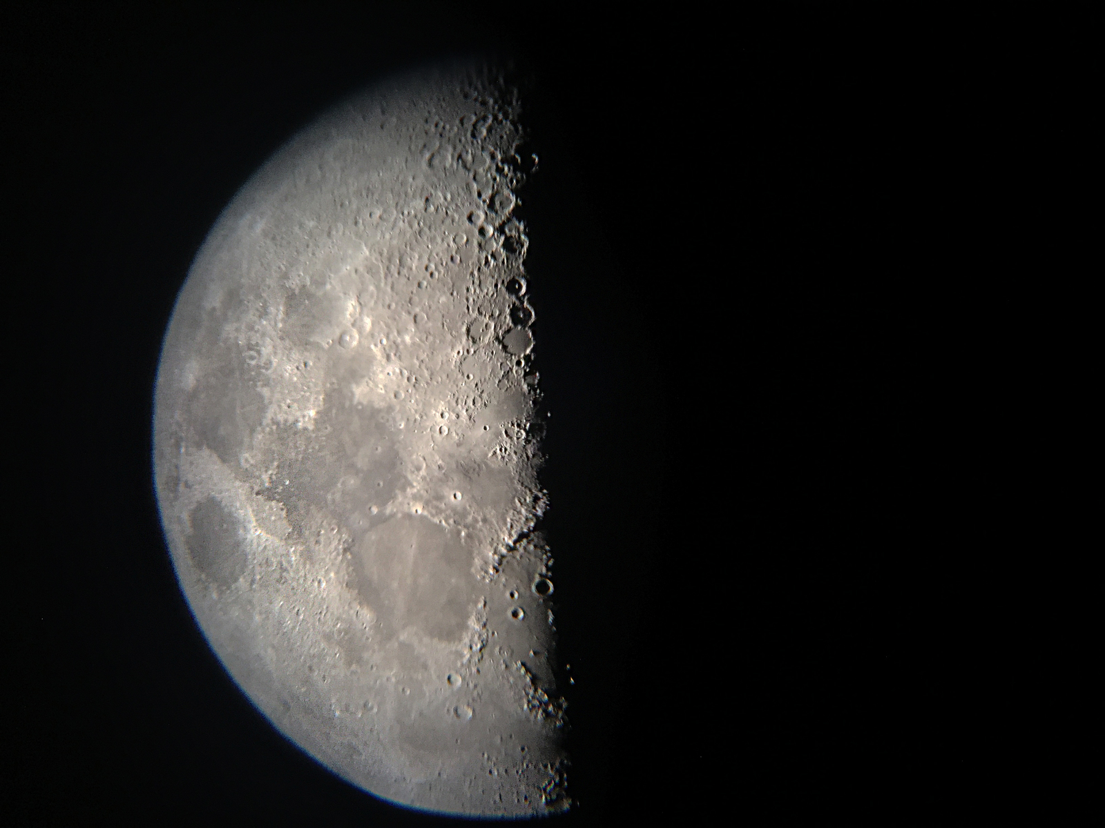 First Photo of Moon (iPhone 6 Plus) 10mm