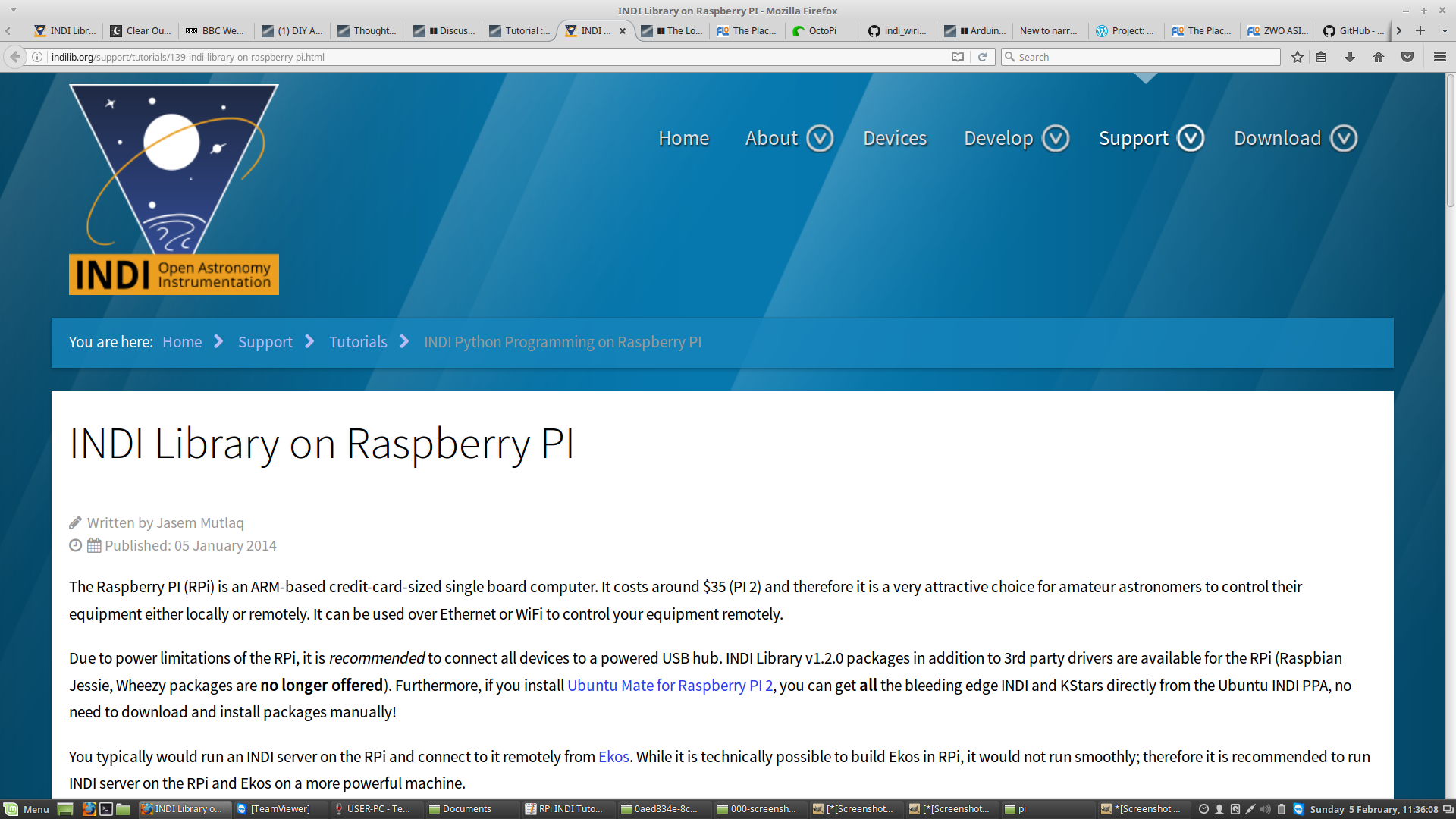 Tutorial setting up a raspberry pi for astro imaging and hardware screenshot from 2017 02 05 11 36 09g baditri Images