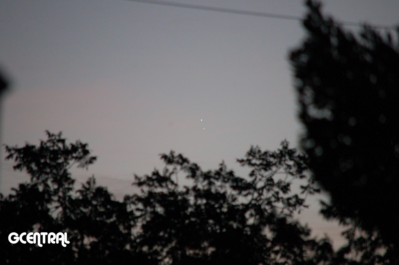 Venus & Jupiter Conjunction Aug. 27, 2016