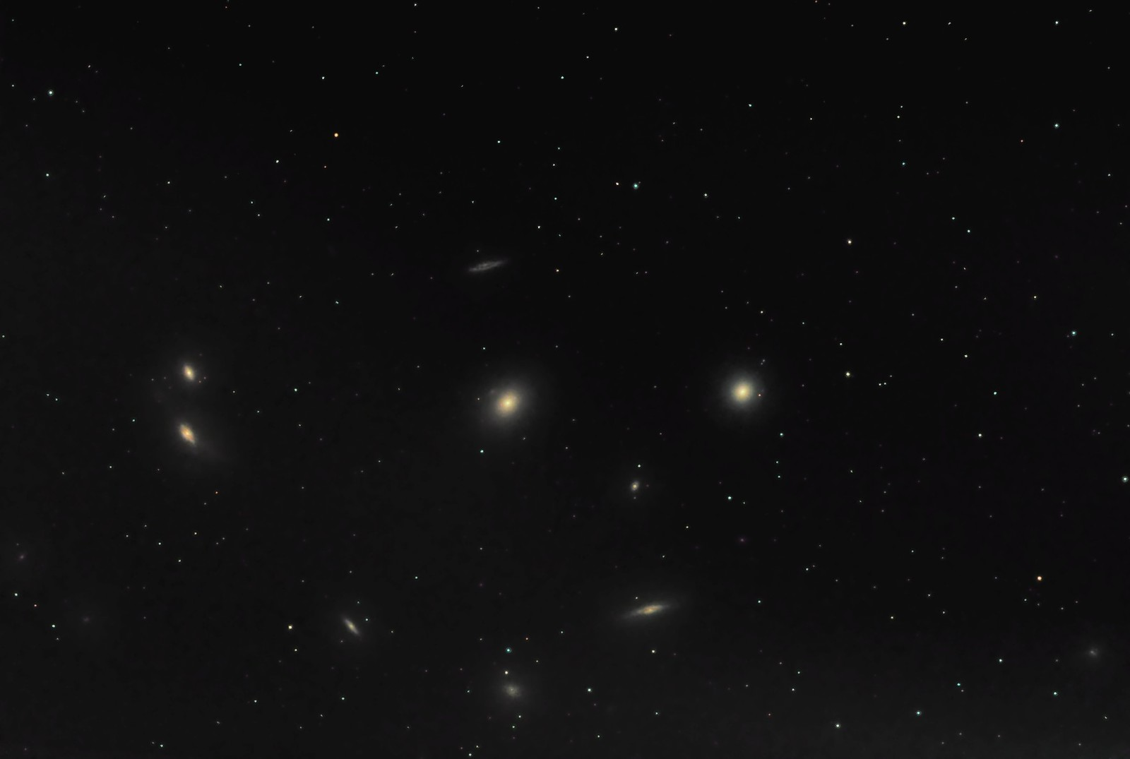 M84, M86, the Eyes (NGC 4435 & 4438) plus about ten others.
