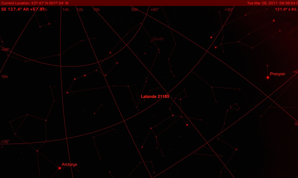 Fast proper motion and orbiting stars. - Observing ...