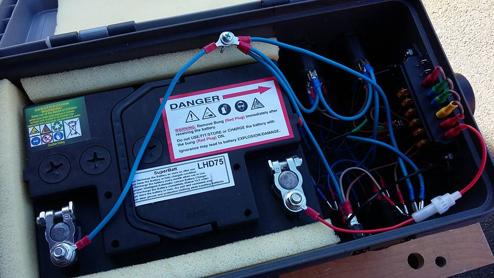 Portable 12v Power Box Diy Astronomer Stargazers Lounge