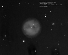 M97 The Owl Nebula 24.03.2017
