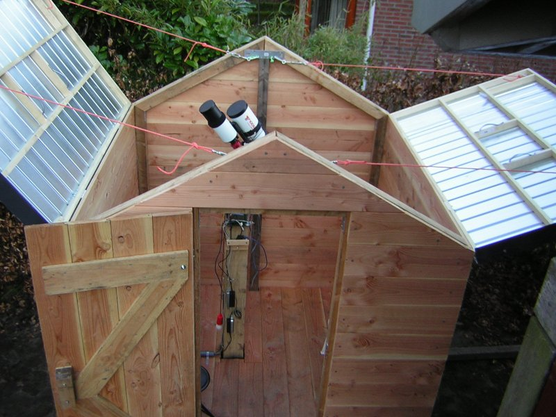 Bat Wing Flip Top Observatory Design Diy Observatories