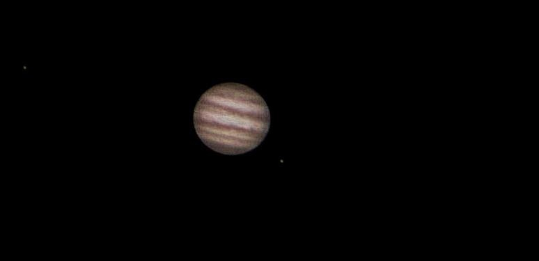 Jupiter - webcam and Registax