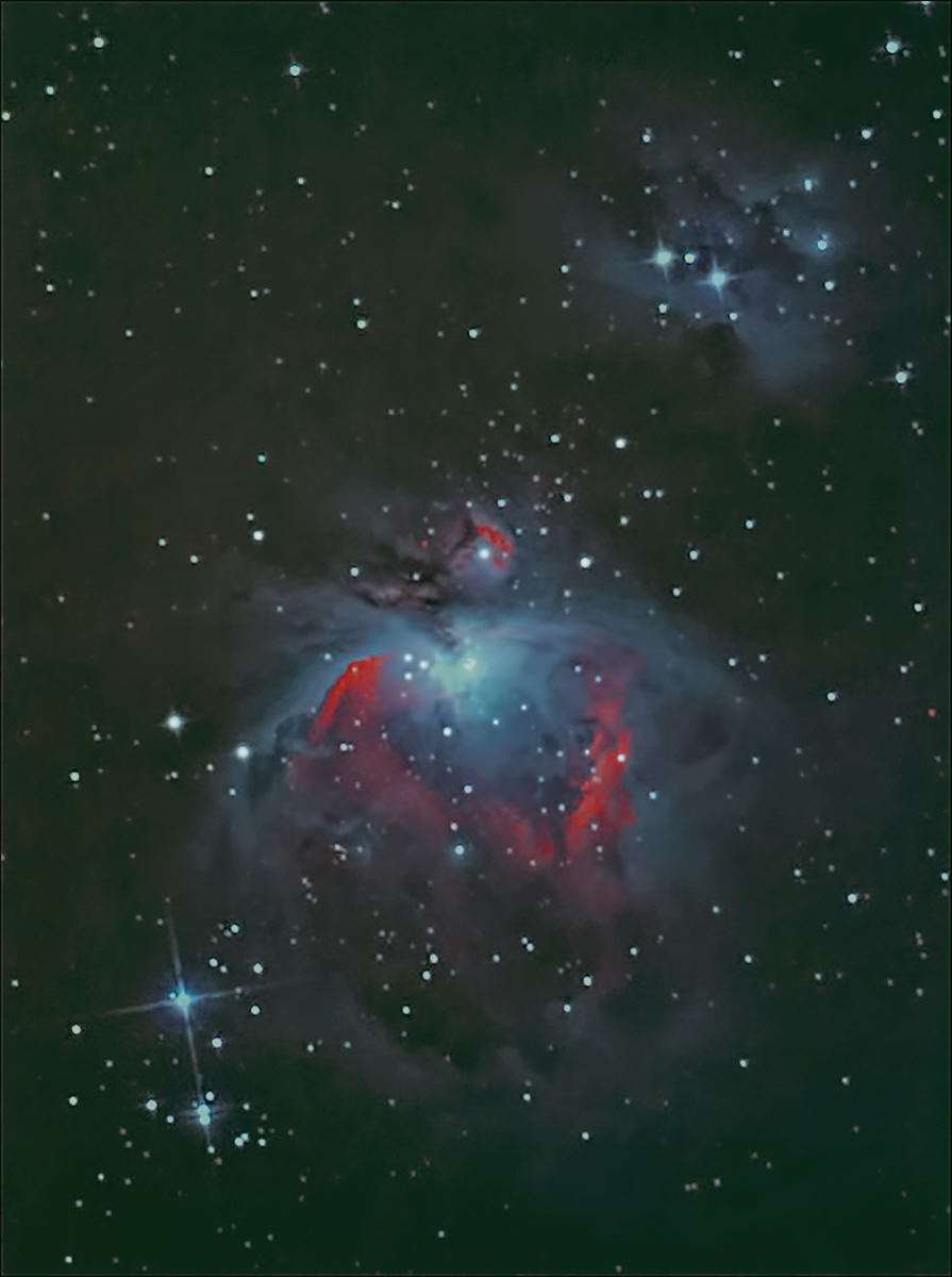 the great orion nebula 7-1-17