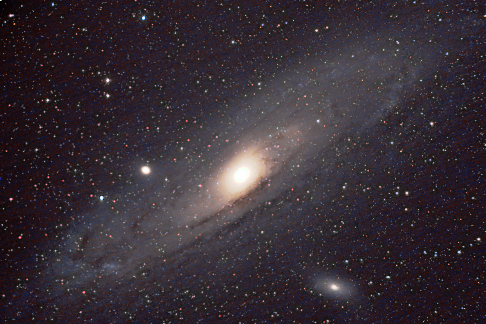 2014-09-24 -- Andromeda re-processed with ProDigial Software's Astronomy Tools V1.6