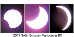 2017 Partial Solar Eclipse - CANADA