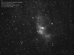 NGC 7635 The Bubble Nebula 20.09.2017