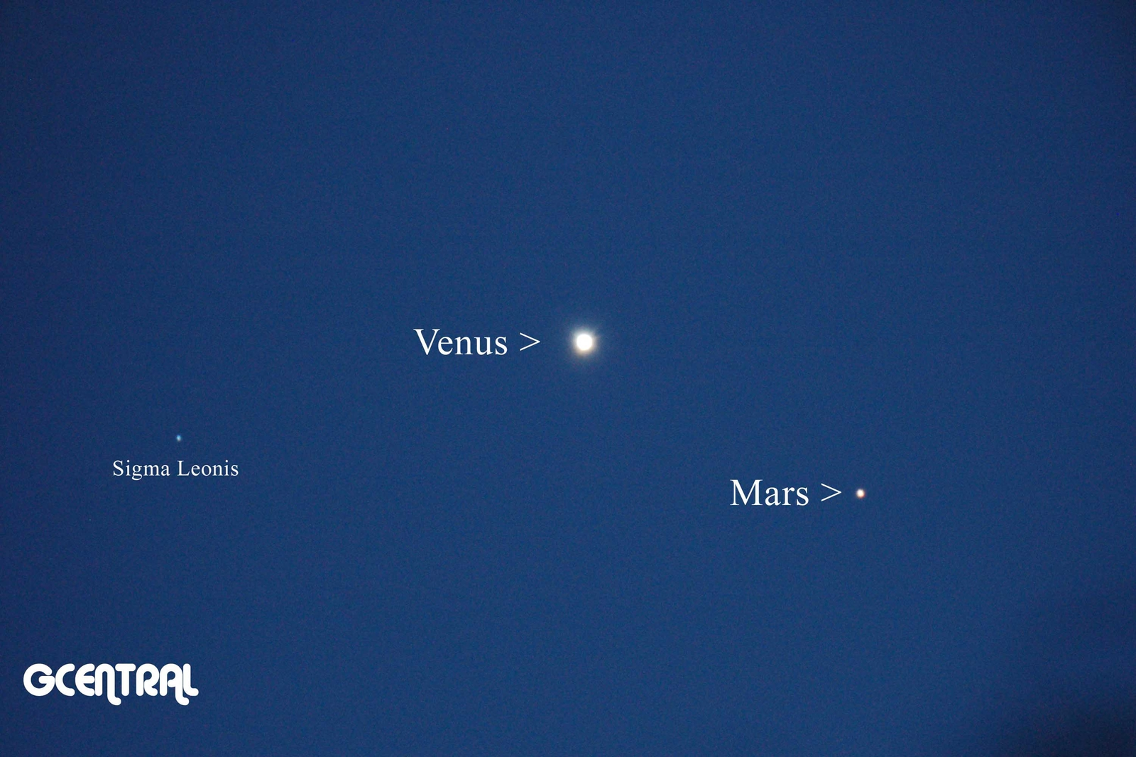 Venus & Mars at Prime Focus October 5, 2017 A