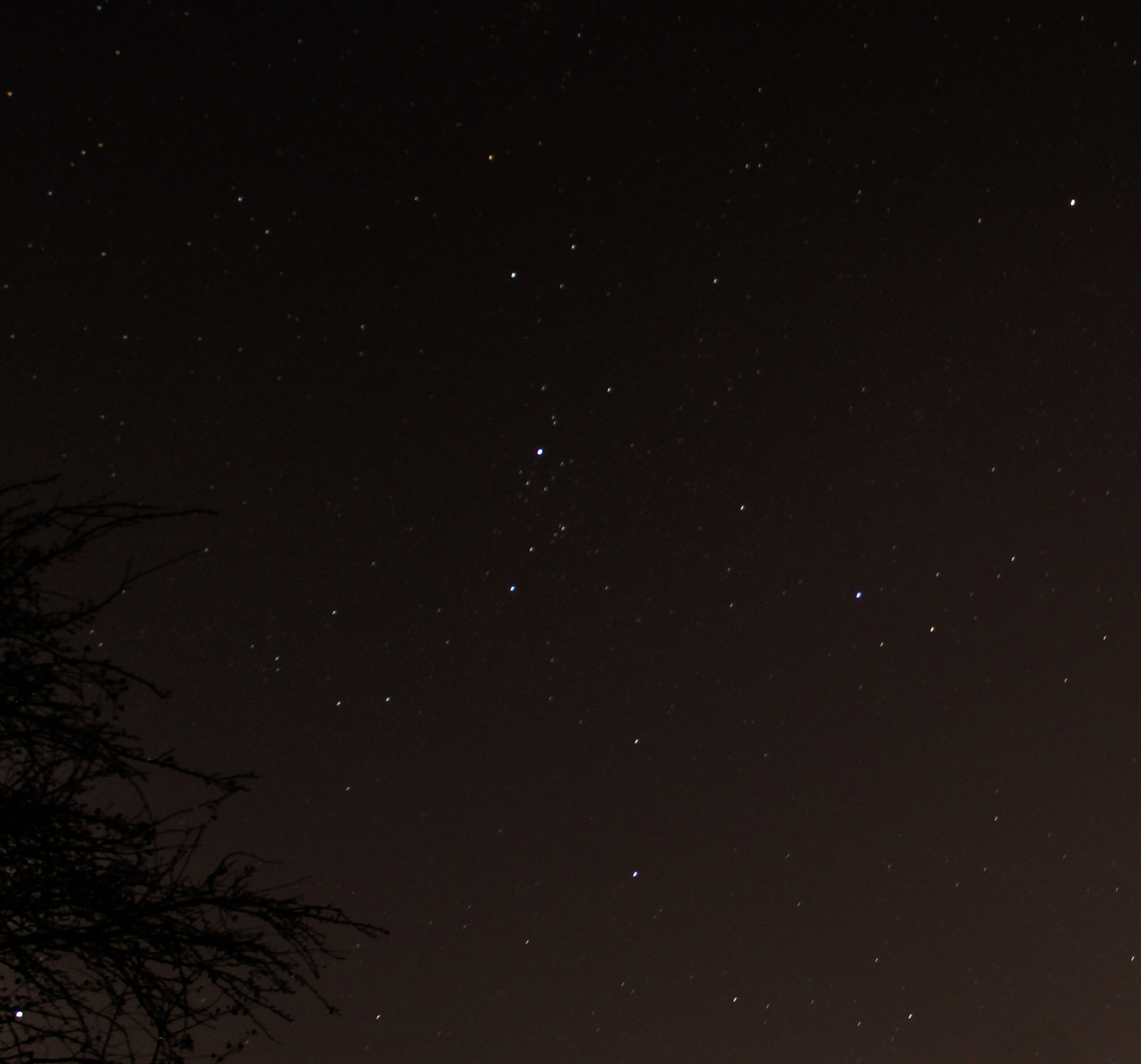 Double Cluster (Wide View)