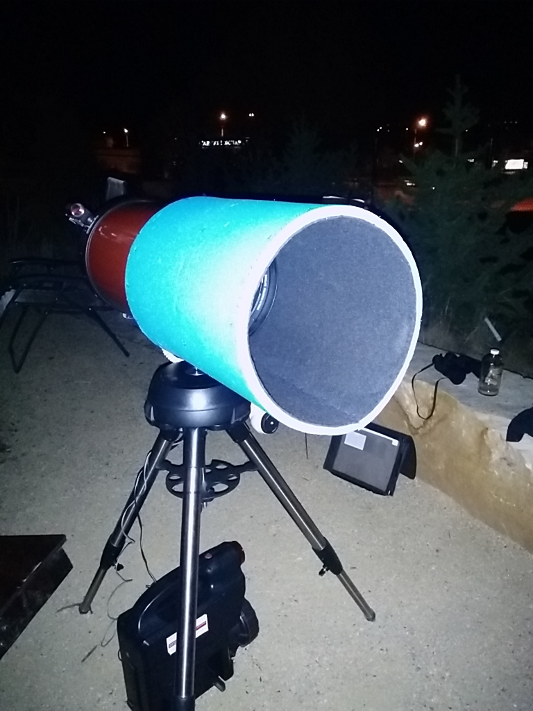DIY Dew Shield / Lens Shade