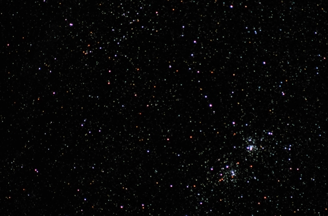 Perseus Double Cluster and Stock 2