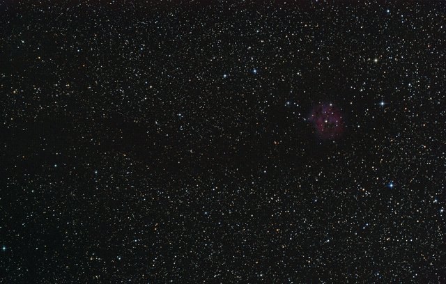 Cocoon Nebula (Low Amount of Data)