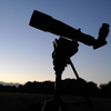 TV60 on manfrotto video tripod. Lovely evening.