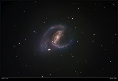 NGC1097 - Interracting Barred Spiral Galaxy