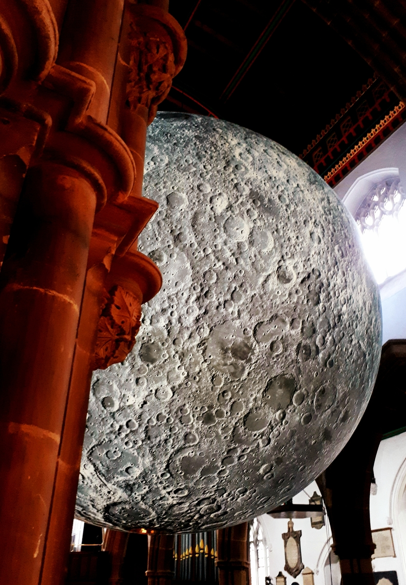 Museum of the Moon, Leicester Cathedral