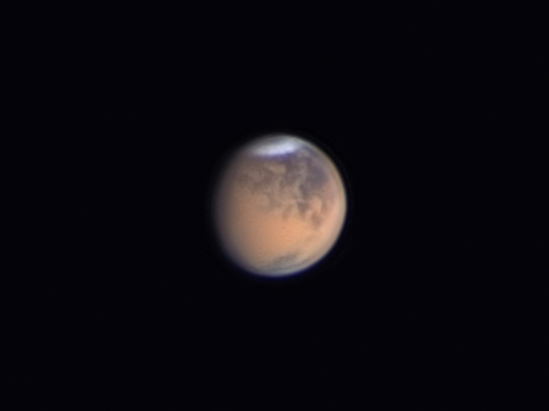 Dusty Mars 10 June 2018