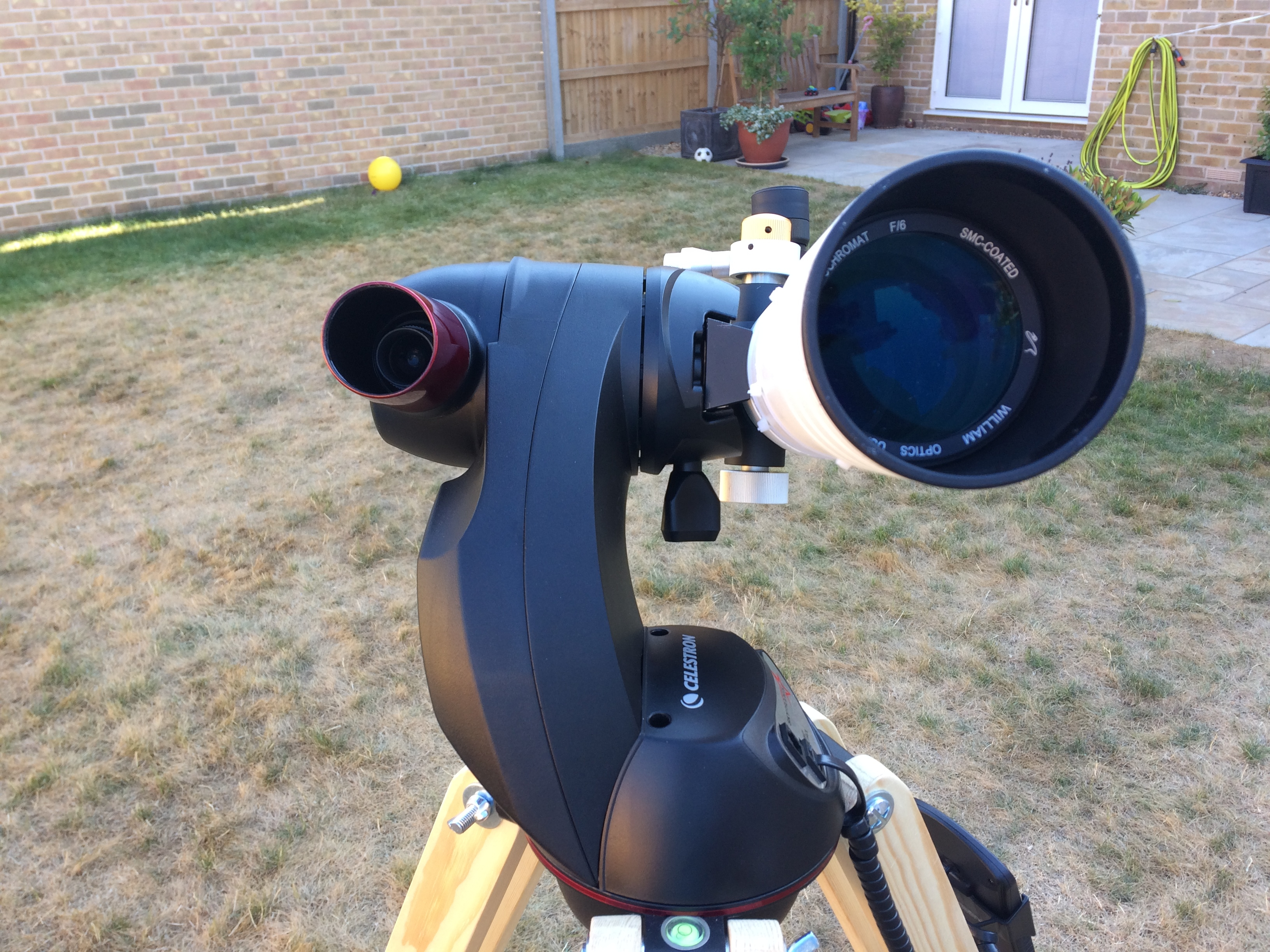 Moon and saturn skywatcher maksutov youtube