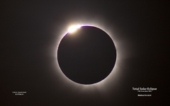 Diamond Ring eclipse - 14 Nov 2012
