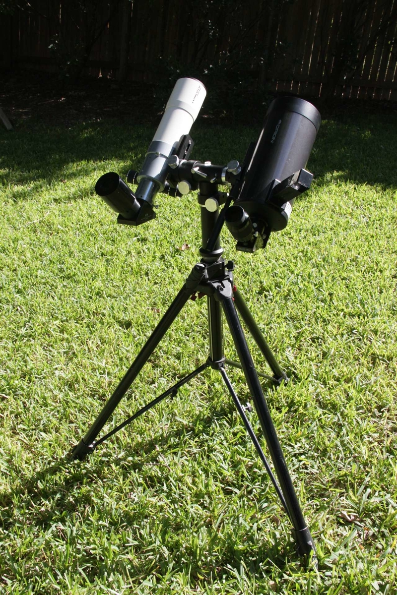 40mm Meade 5000 SWA on 72ED and 24mm APM UFF on Mak