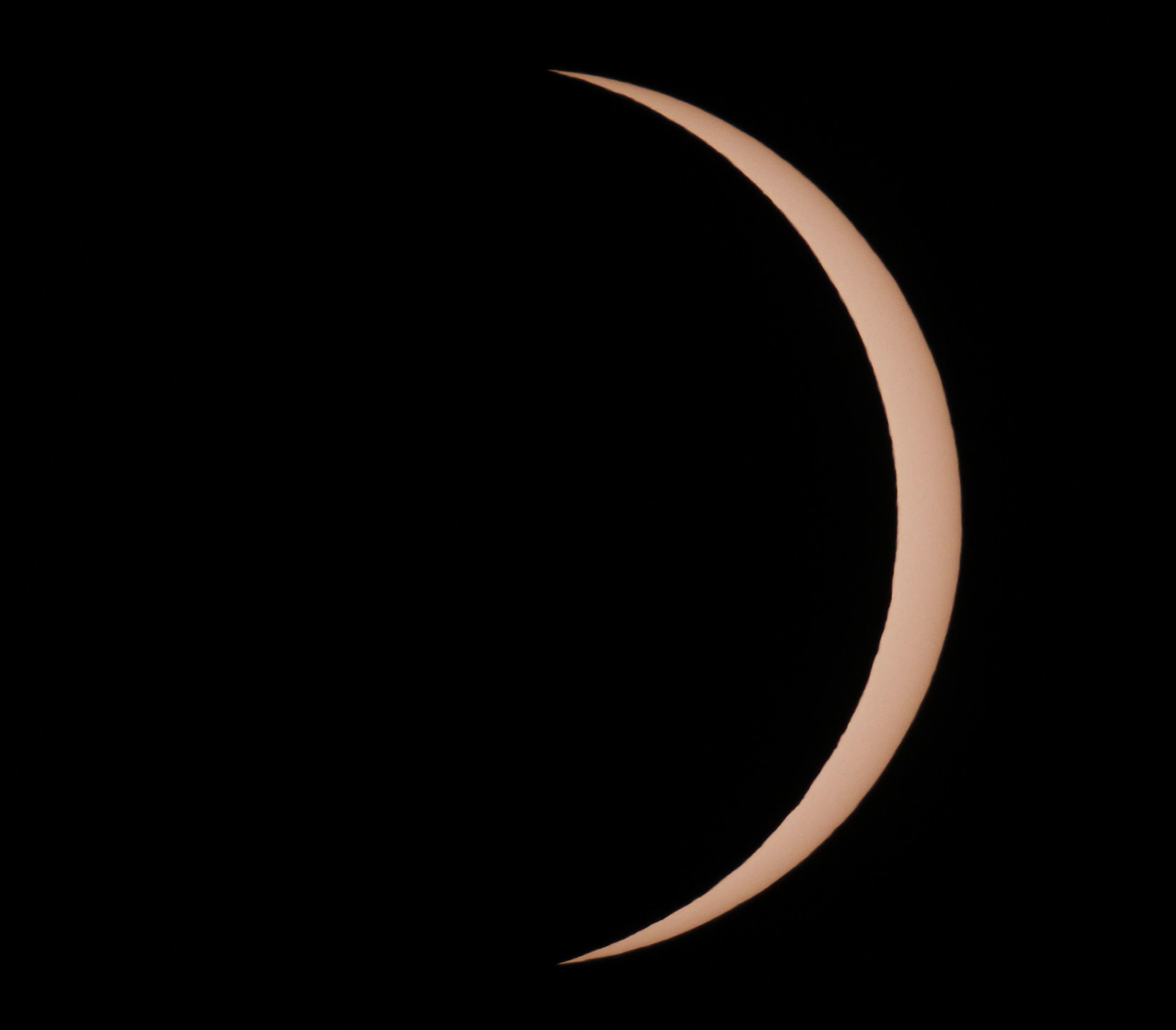 Maximum coverage of the 21 August 2017 Eclipse