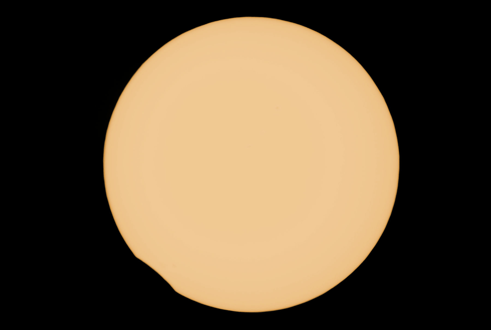 End of the 21 August 2017 Eclipse