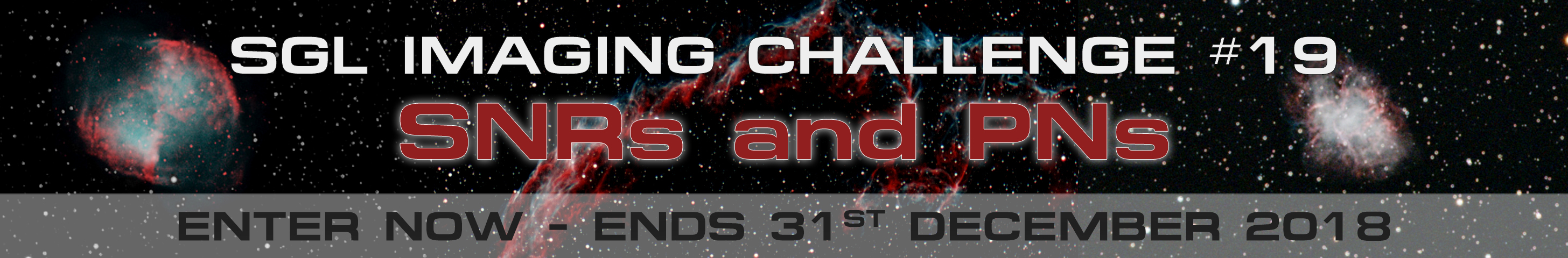 Imaging Challenge #19 - SNRs and PNs
