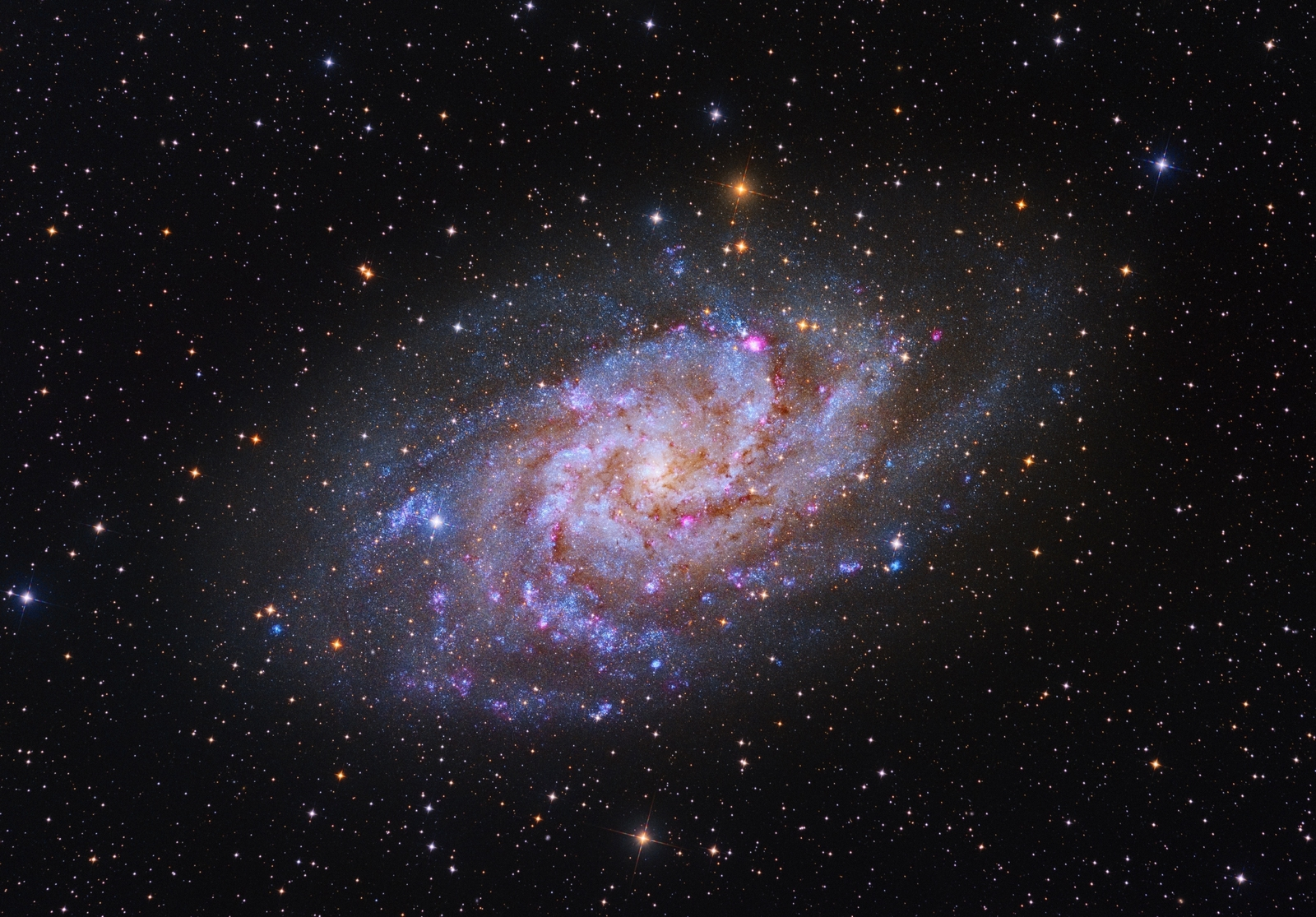 M33 with Astrograph F3.0
